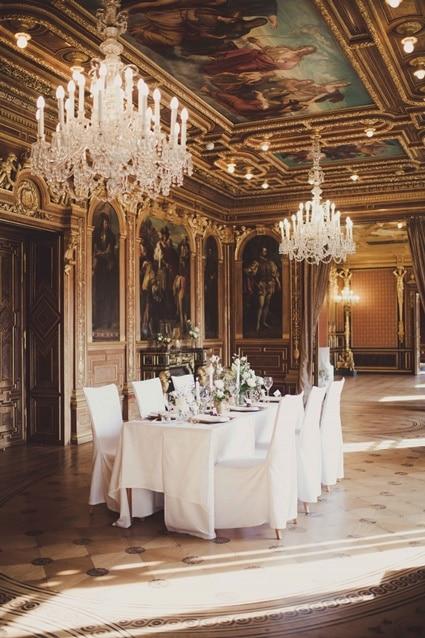 moderne Schloßhochzeit wie Kaiserin Sissi in Wien