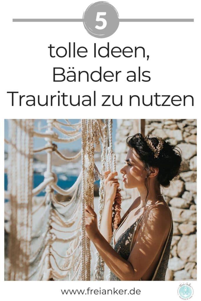 Hochzeitsrituale mit Bändern freie Trauung
