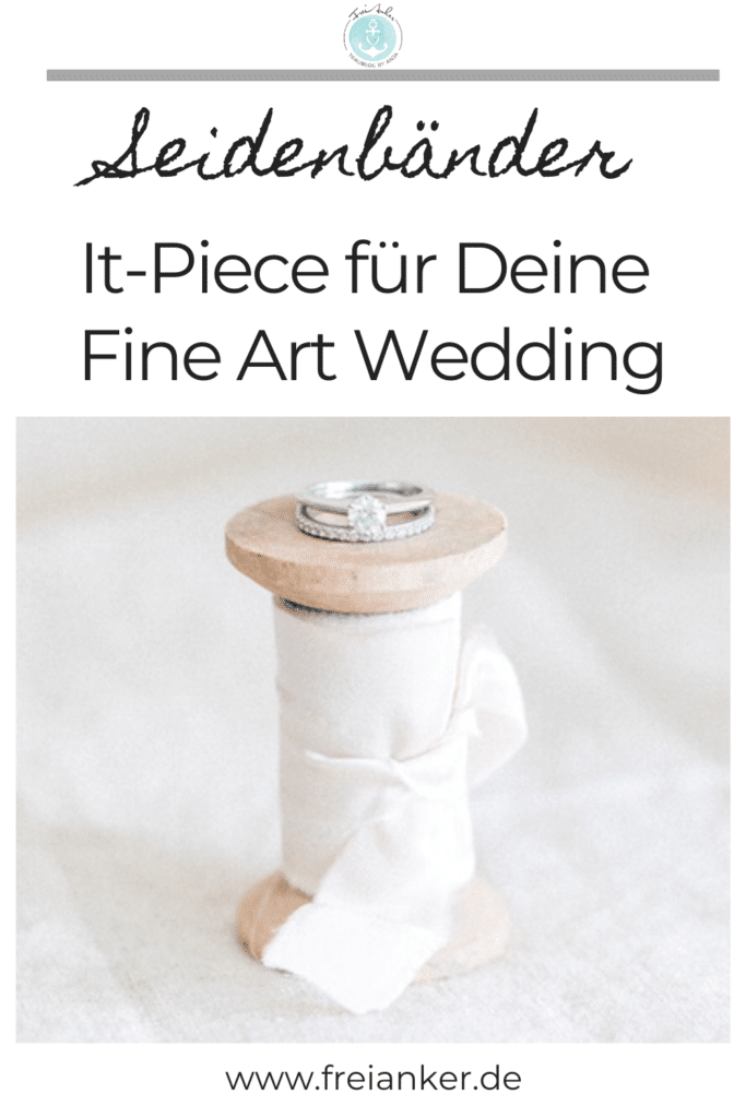 Seidenbänder Fine Art Wedding It Piece