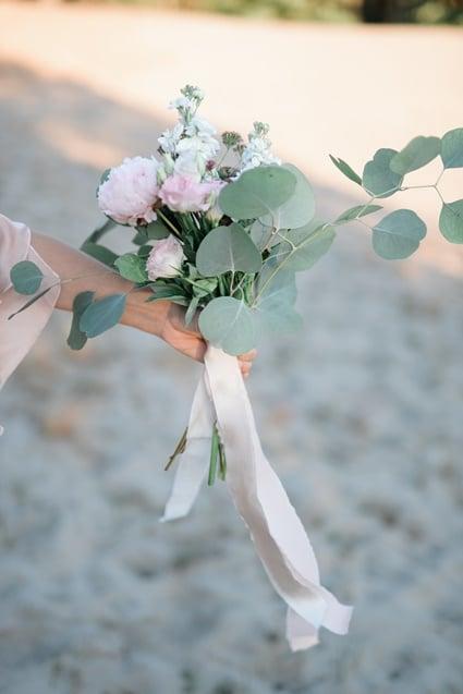Seidenbänder Fine Art Wedding Brautstrauß