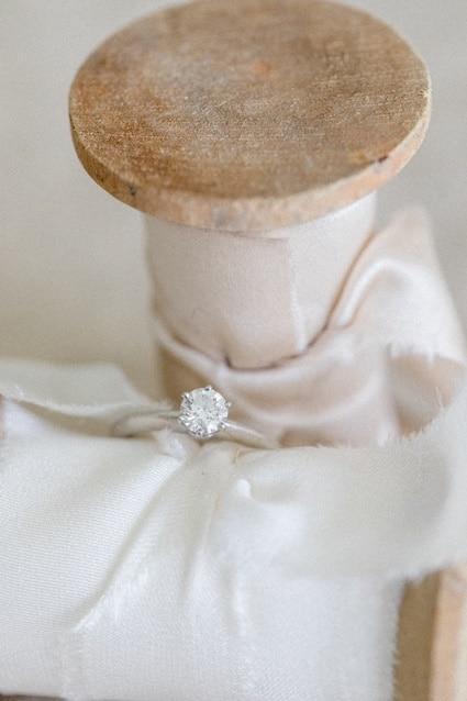 Seidenbänder Fine Art Wedding Ringkkissen