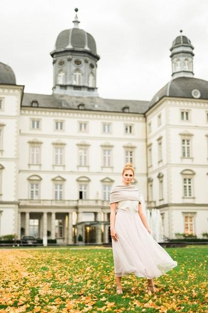 Fine Art Wedding avantgardistische Schlosshochzeit