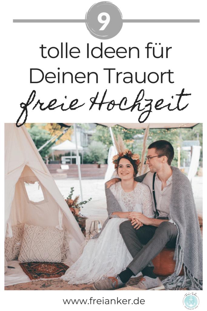 9 tolle Ideen für einen ungewöhnlcihen Trauort in der freien Hochzeit