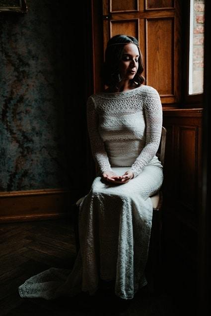 Boho Hochzeit mit orientalischen Elementen auf Burg Bergerhausen NRW bei Köln Braut Getting Ready