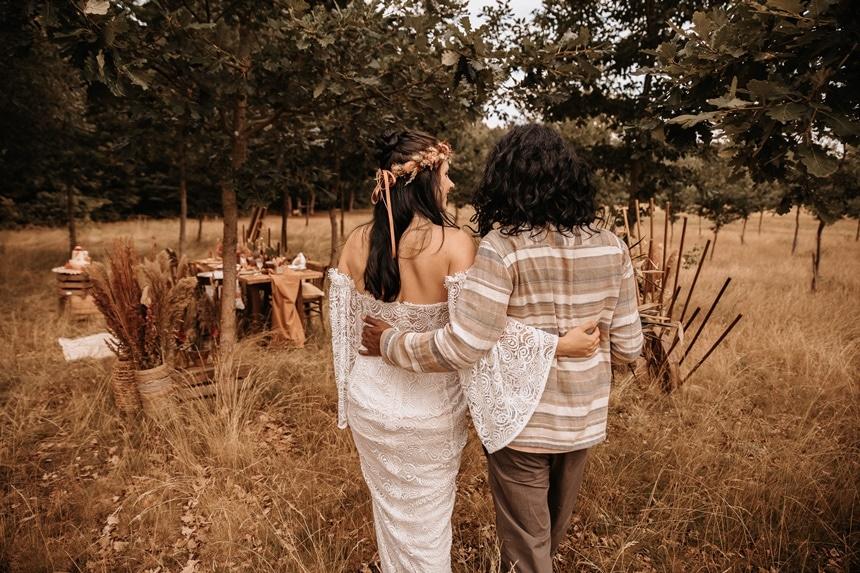 Safari meets Boho outdoor Hochzeit mitten in Deutschland