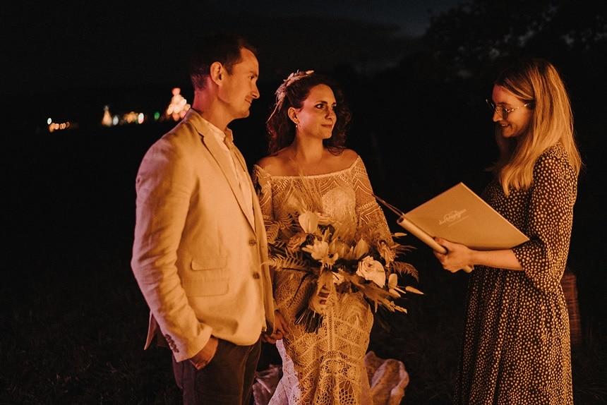 Sparkling Bali Night - freie Trauung bei Nacht