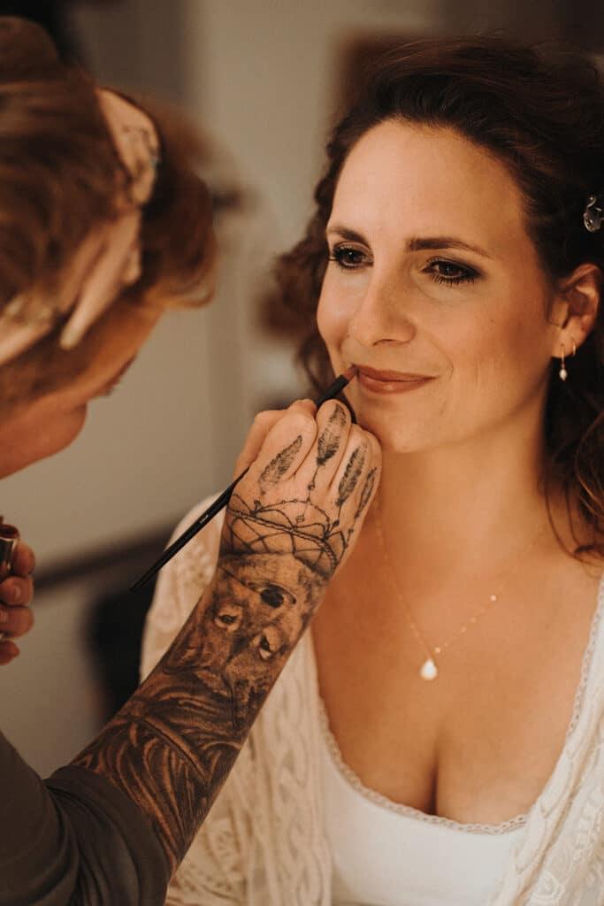 Sparkling Bali Night - Getting Ready Braut MakeUp