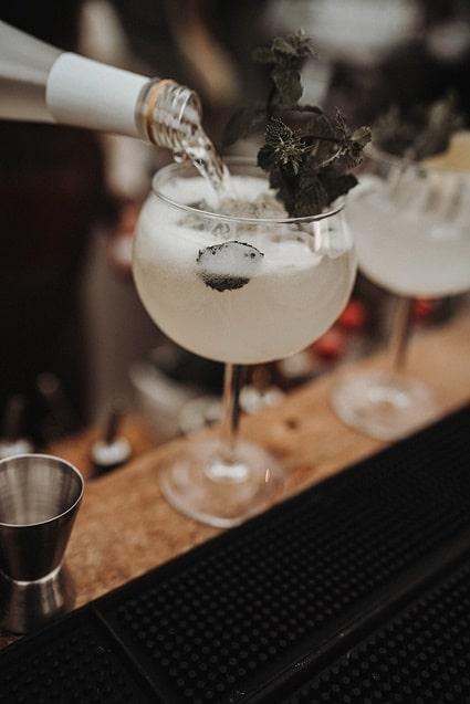 Sparkling Bali Night - Cocktail Bar Mojito Drink