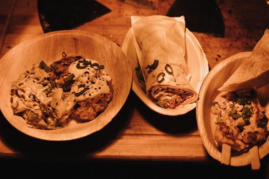 Sparkling Bali Night - flying food Fingerfood Hochzeit