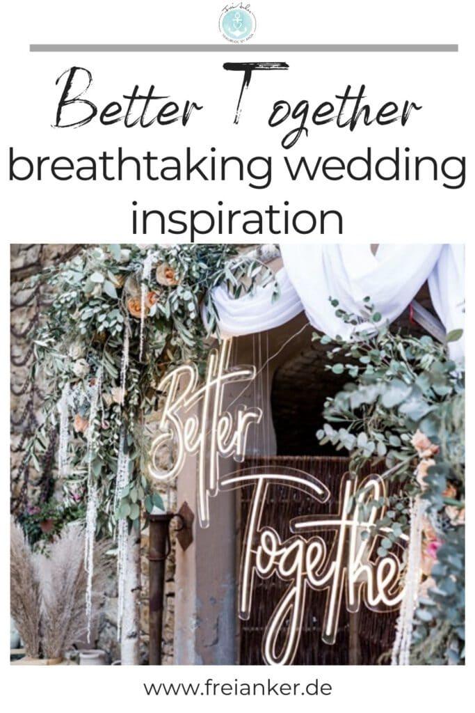 Toskana Hochzeit mit Handabdruck Ritual