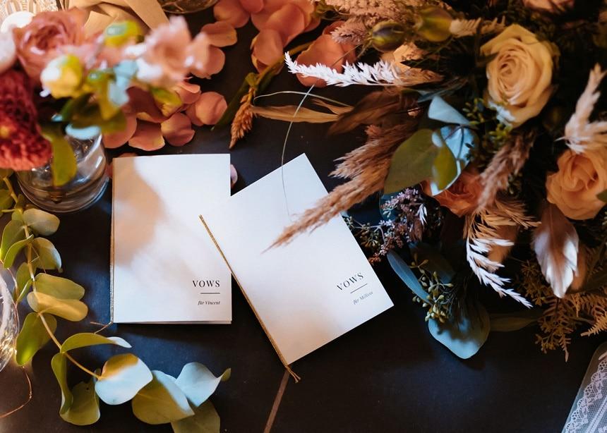 Autumn Colors Eheversprechen