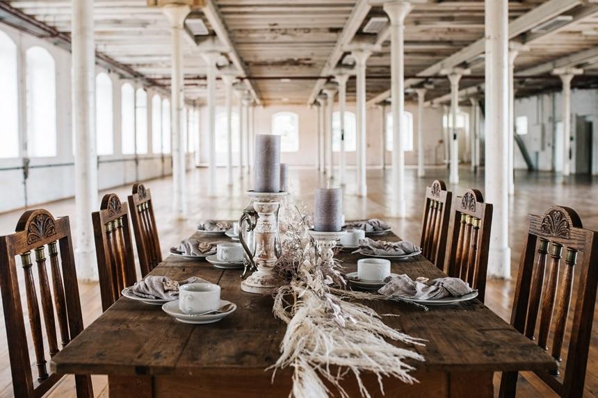 Freianker Airy Wedding Loft Wedding 31
