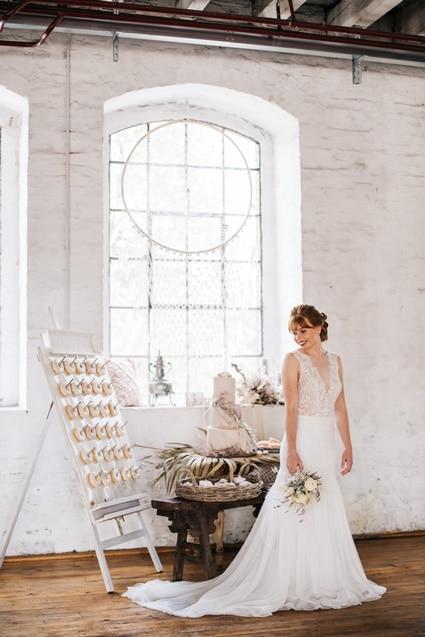 Freianker Airy Wedding Loft Wedding 51