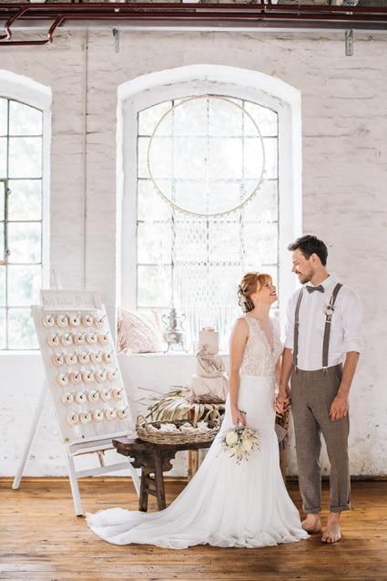 Freianker Airy Wedding Loft Wedding 55