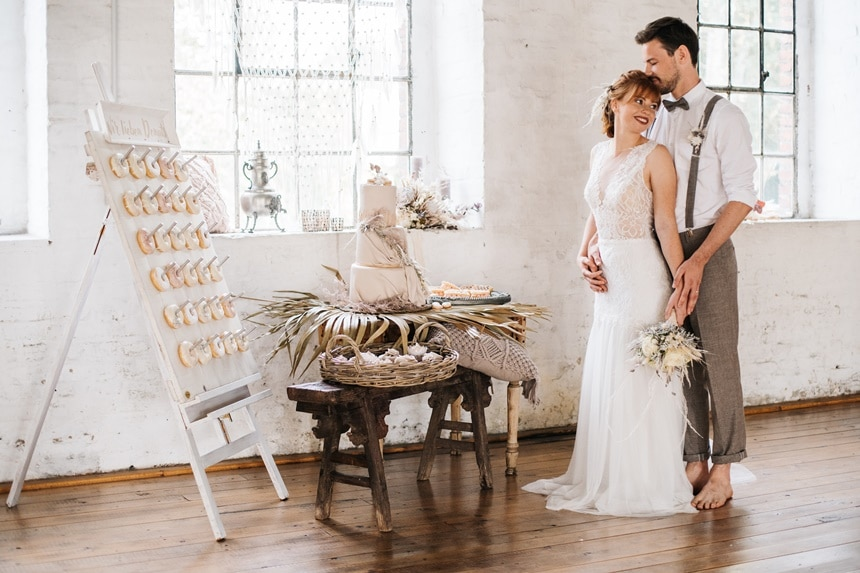 Freianker Airy Wedding Loft Wedding 56