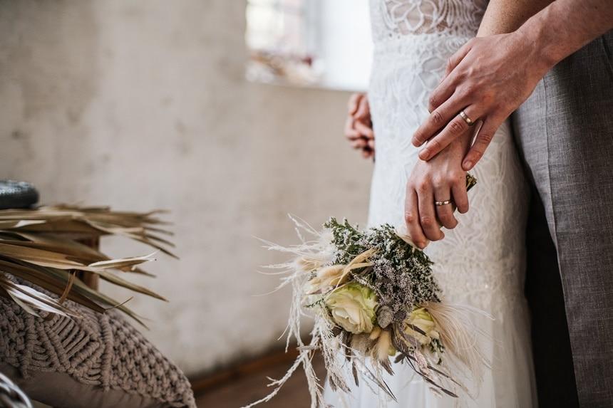 Freianker Airy Wedding Loft Wedding 57