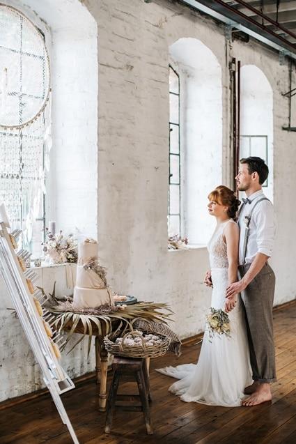 Freianker Airy Wedding Loft Wedding 59