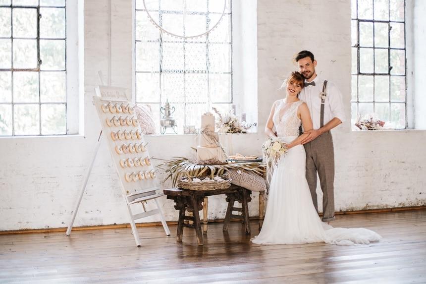 Freianker Airy Wedding Loft Wedding 61