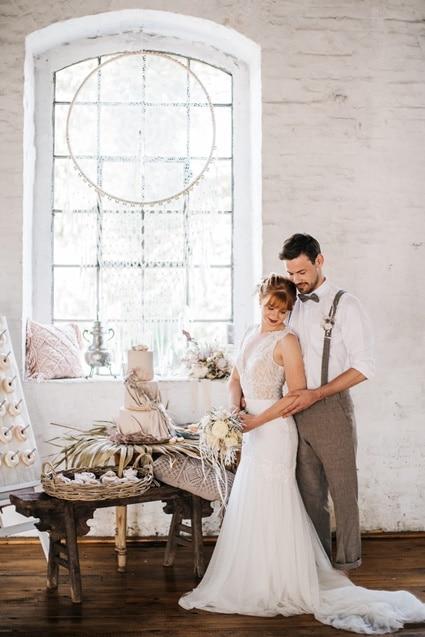 Freianker Airy Wedding Loft Wedding 62