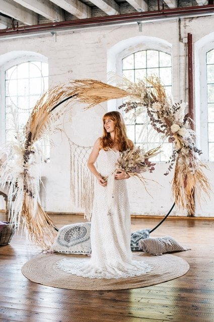 Freianker Airy Wedding Loft Wedding 75