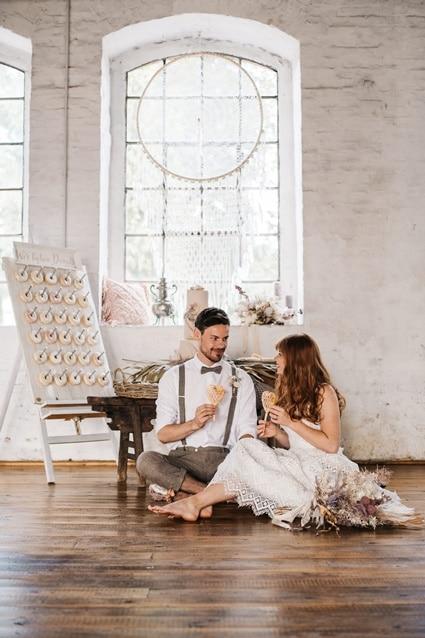 Freianker Airy Wedding Loft Wedding 76
