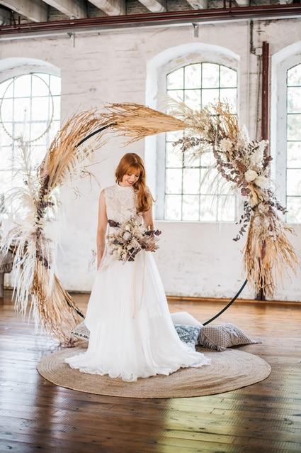 Freianker Airy Wedding Loft Wedding 79