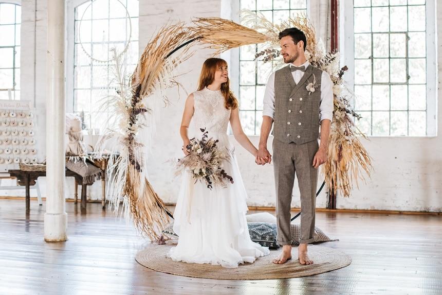 Freianker Airy Wedding Loft Wedding 82