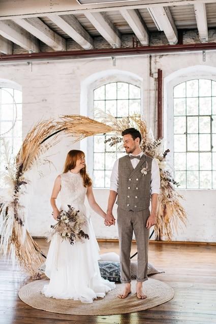 Freianker Airy Wedding Loft Wedding 83