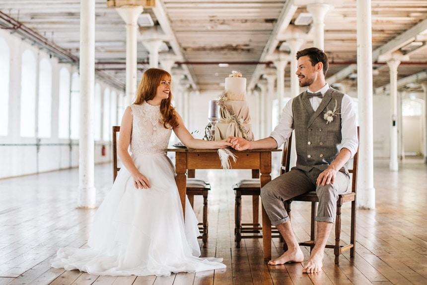 Freianker Airy Wedding Loft Wedding 84