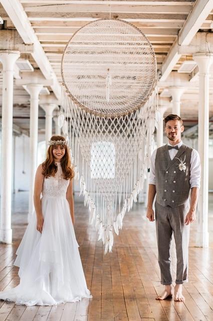 Freianker Airy Wedding Loft Wedding 91
