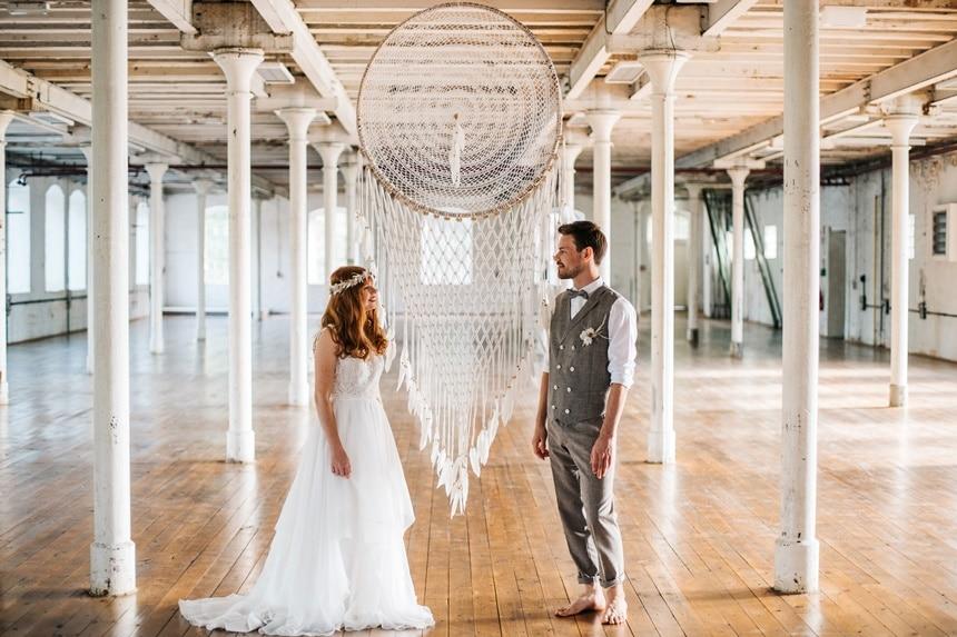Freianker Airy Wedding Loft Wedding 92