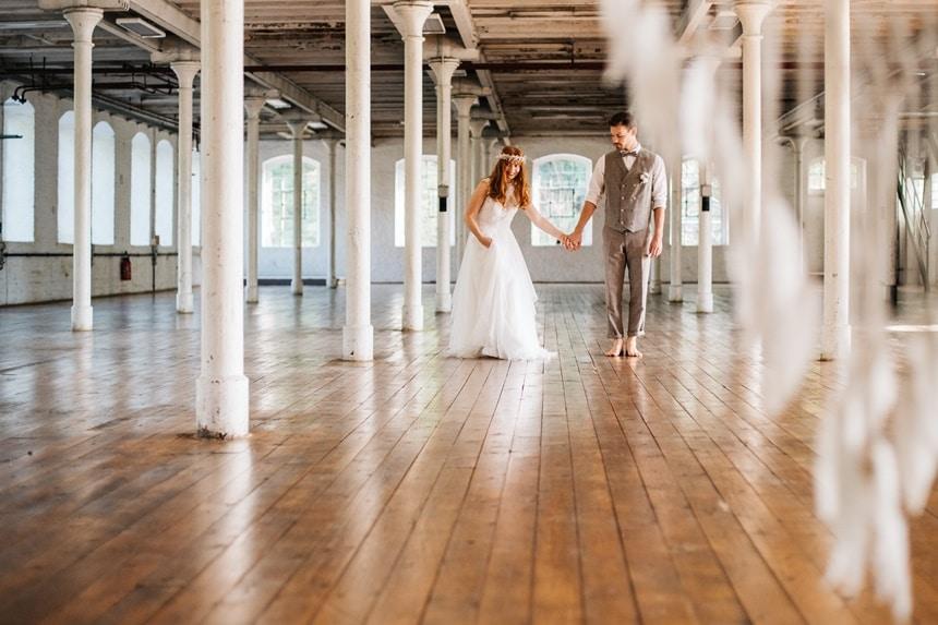 Freianker Airy Wedding Loft Wedding 93