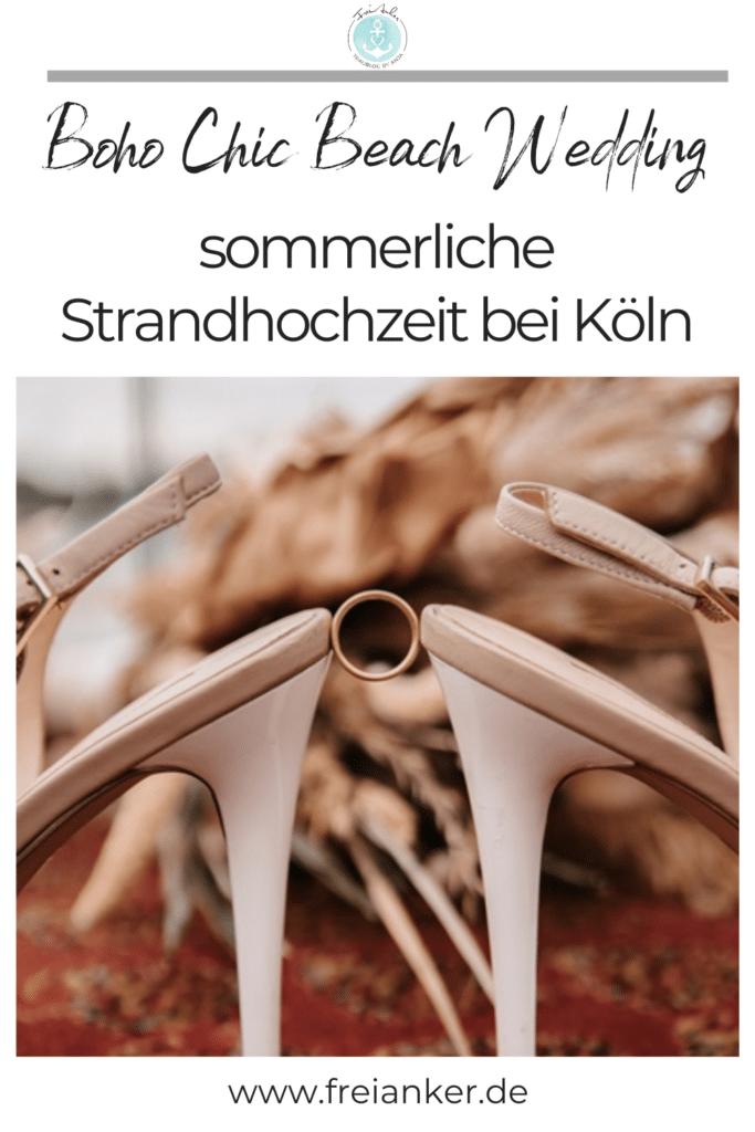 Boho Beach Wedding - Strandhochzeit bei Köln