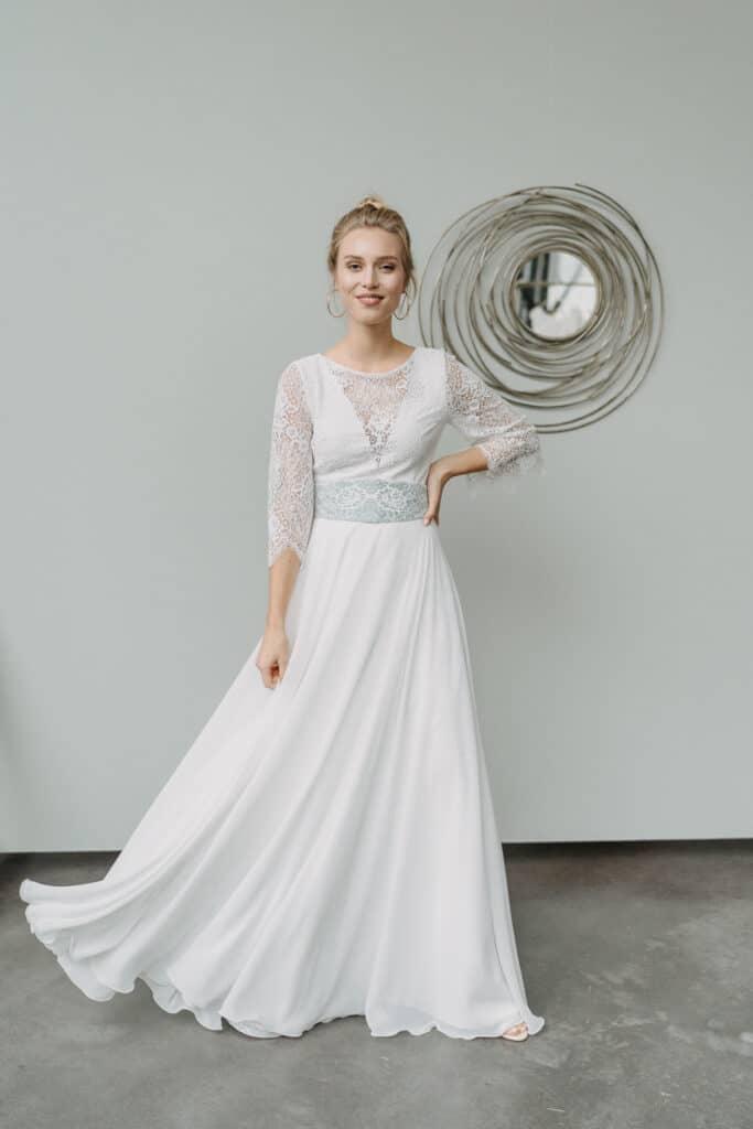 Brautmodenkollektion 2021 - Brautkleid, Bridal Jumpsuit, Standesamtkleid, Brautrock, Brautbluse, Brautbody