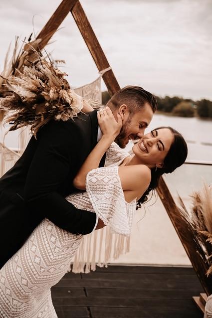Boho Beach Wedding bei Koeln 65