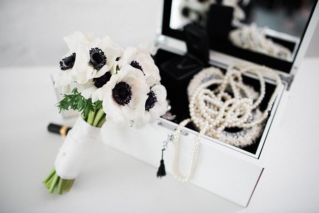 Coco Chanel black white schwarz weiß Hochzeit