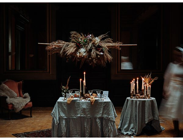 Boho Rhapsody - winterliche kleine mini Hochzeit in einer verlassenen Villa