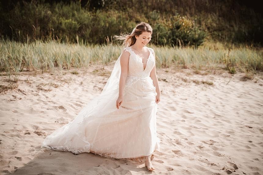 Boho Hochzeit am Strand in Rastede