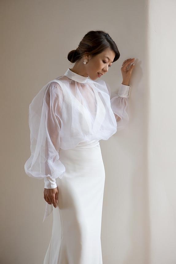 minimal love white wedding inspiration 0015