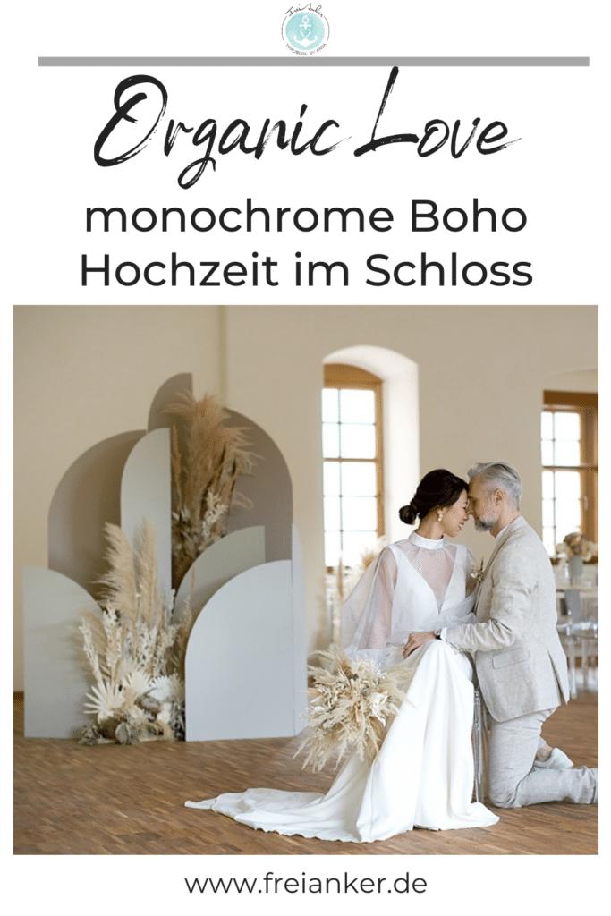 monochrome boho wedding 1