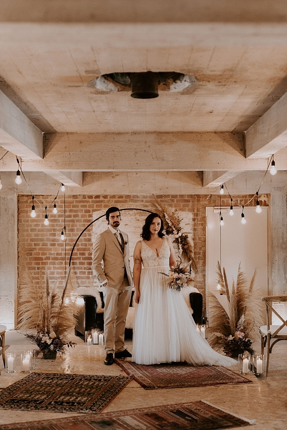 industrial boho wedding 0037