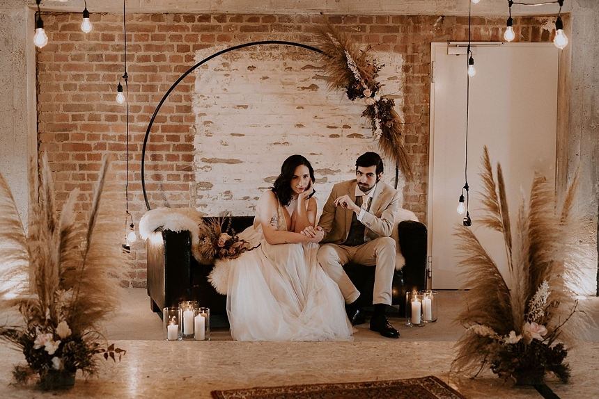 industrial boho wedding 0041