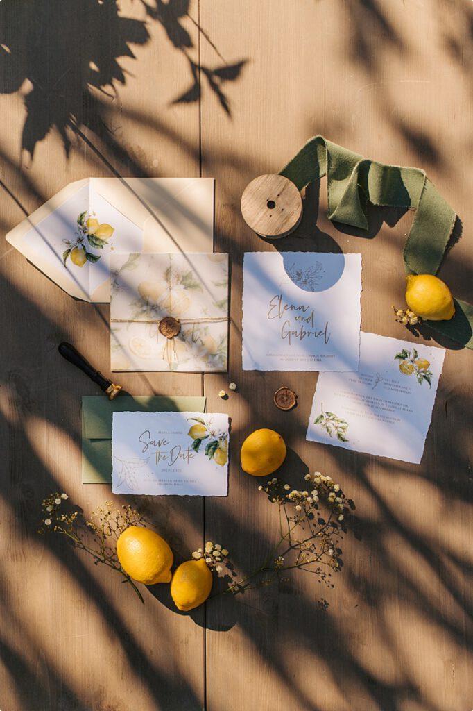 italienische gartenhochzeit gelb zitrone 109