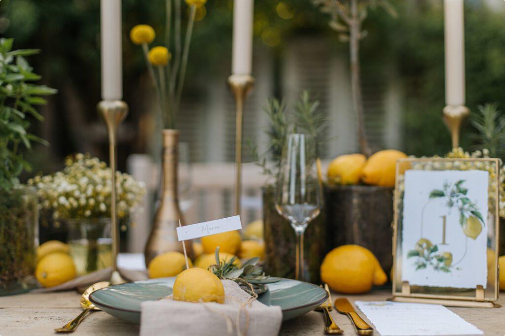 italienische gartenhochzeit gelb zitrone 132