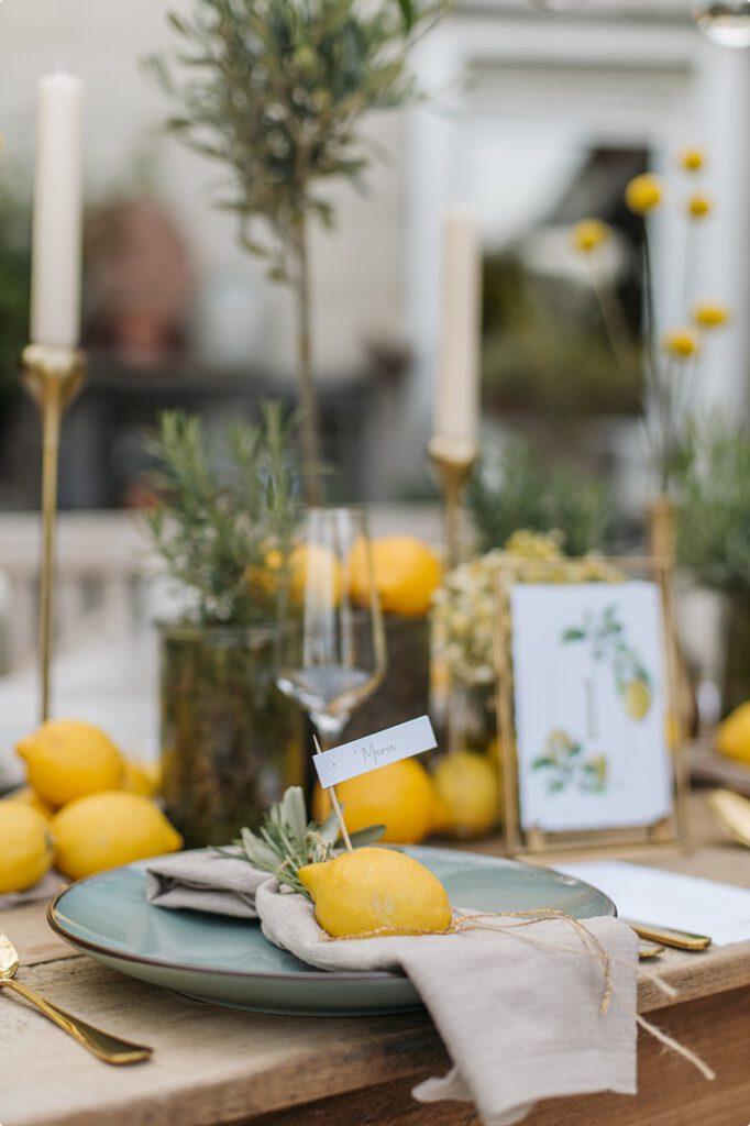 italienische gartenhochzeit gelb zitrone 137