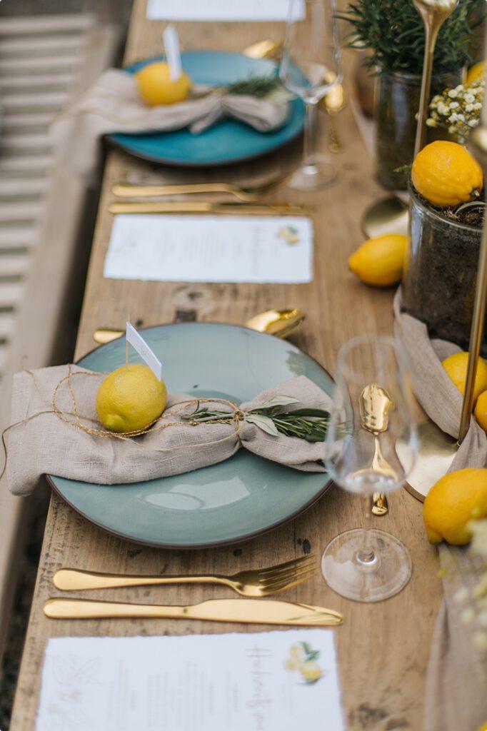 italienische gartenhochzeit gelb zitrone 140