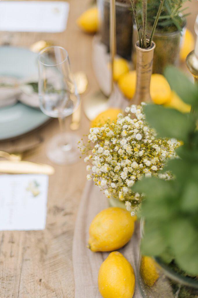 italienische gartenhochzeit gelb zitrone 141