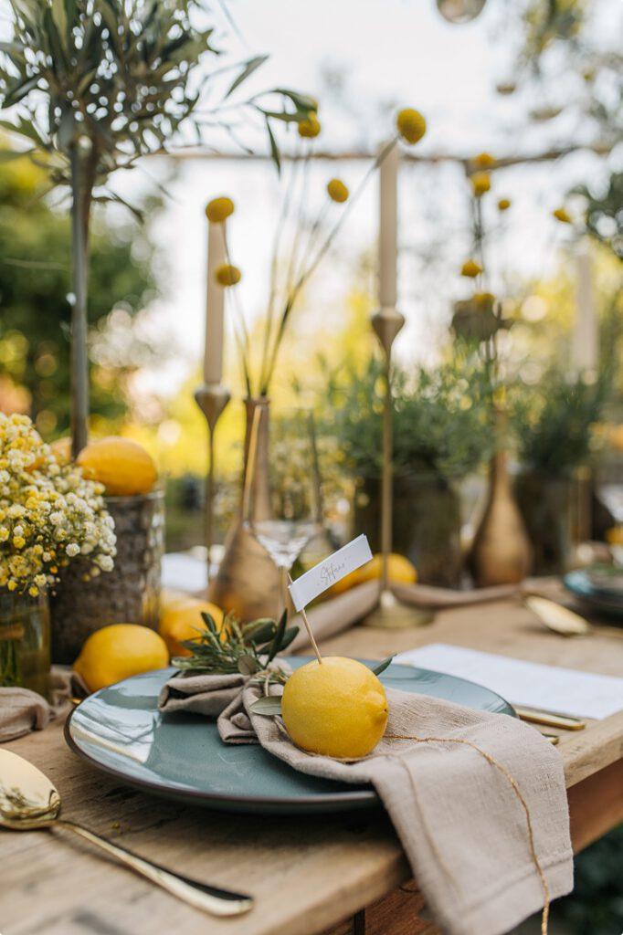italienische gartenhochzeit gelb zitrone 152