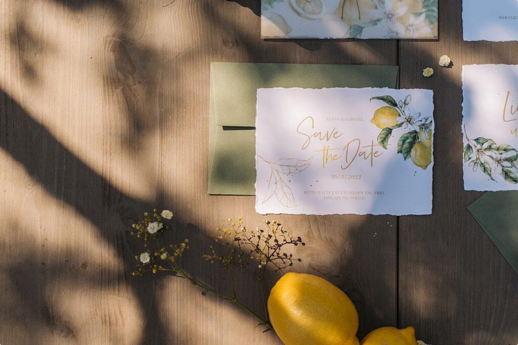 italienische gartenhochzeit gelb zitrone 34