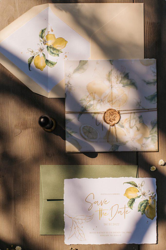 italienische gartenhochzeit gelb zitrone 36